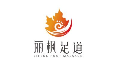 丽枫足道保养品品牌LOGO设计