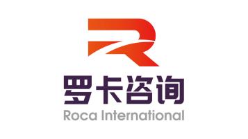 羅卡咨詢品牌logo設計