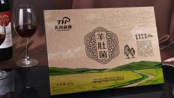 天河菌业农产品品牌包装设计