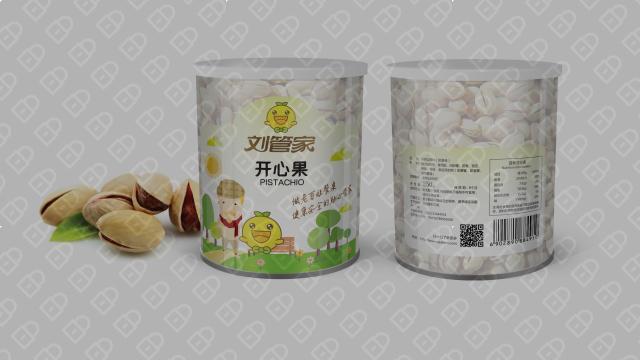 刘管家食品包装设计入围方案1
