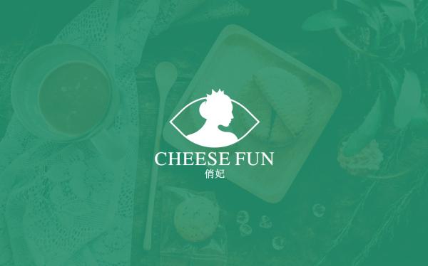 CHEESE FUN 标志设计