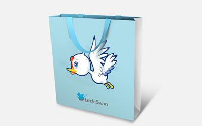小天鹅洗衣机吉祥物设计提案