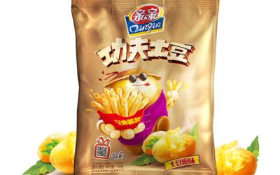 亲亲食品功夫土豆空心薯片包装设...