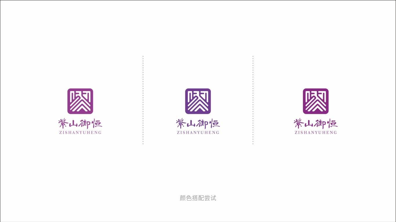 紫山御恒金融品牌LOGO设计中标图4