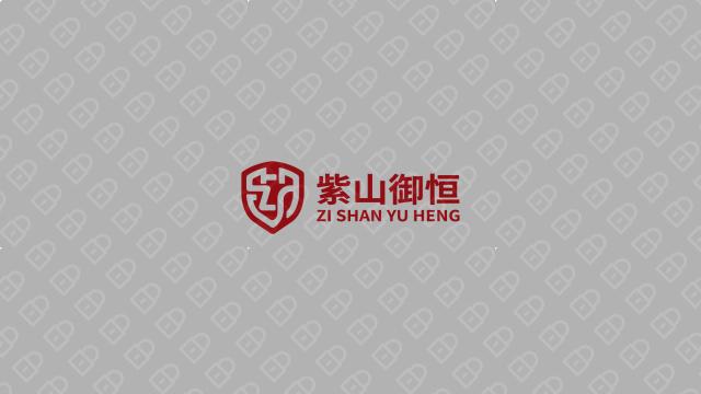 紫山御恒金融品牌LOGO设计入围方案2