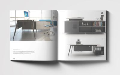 优卓办公家具画册设计