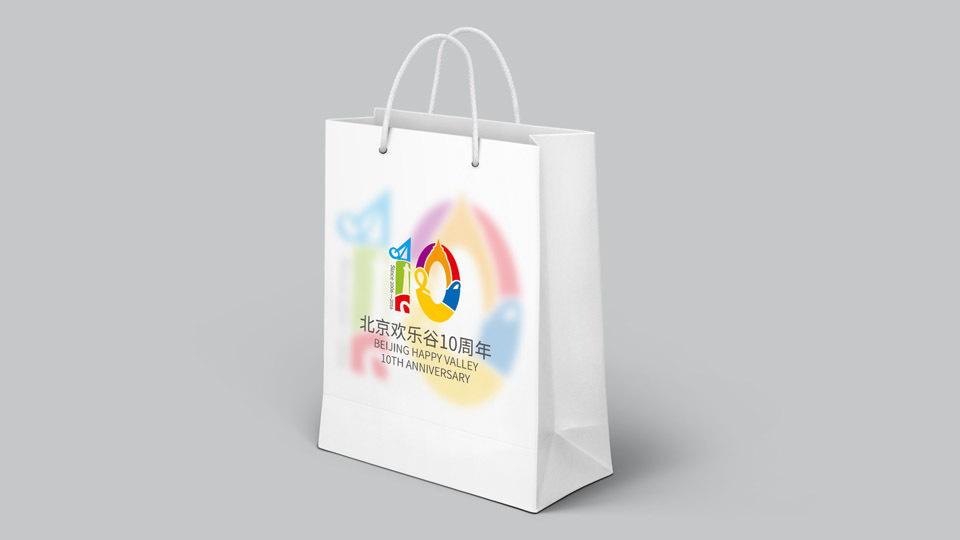 欢乐谷十年VI设计中标图2
