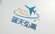 蓝天弘高logo设计