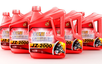 金潤澤潤滑油包裝設計
