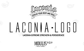 拉科尼亚美式训场LOGO设计