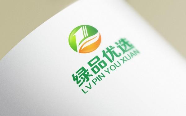 绿品优选logo设计方案