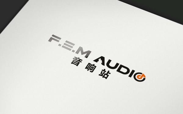 音响站logo设计方案