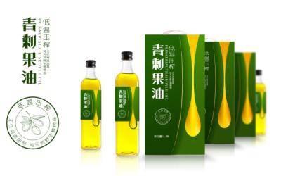 青刺果油品牌包装设计