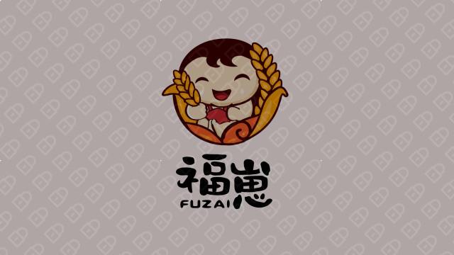 福崽食品品牌LOGO设计入围方案4