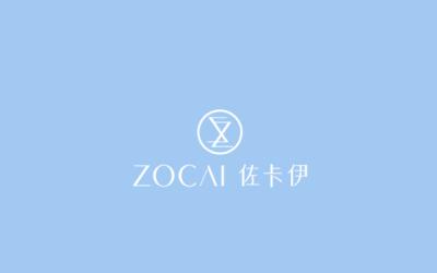 佐卡伊品牌logo设计