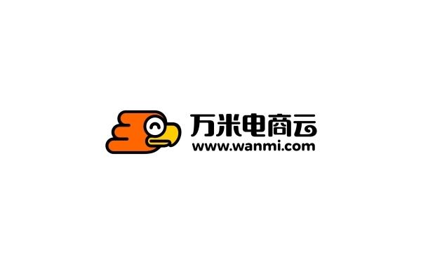 万米电商云   标志设计
