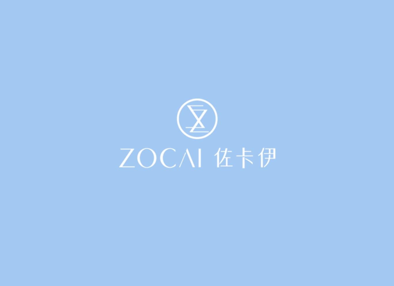 佐卡伊品牌logo设计图0
