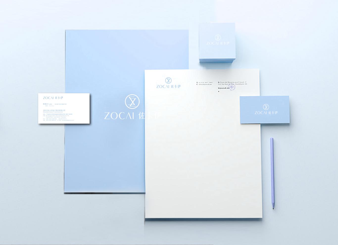 佐卡伊品牌logo设计图2
