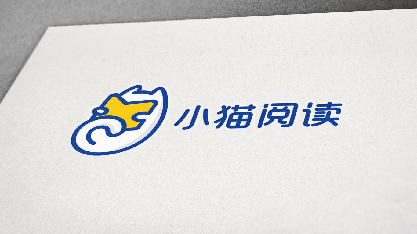 小猫阅读品牌LOGO设计中标图3