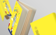 晴耕雨读儿童游学手册设计