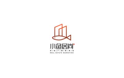小鱼居尚logo设计