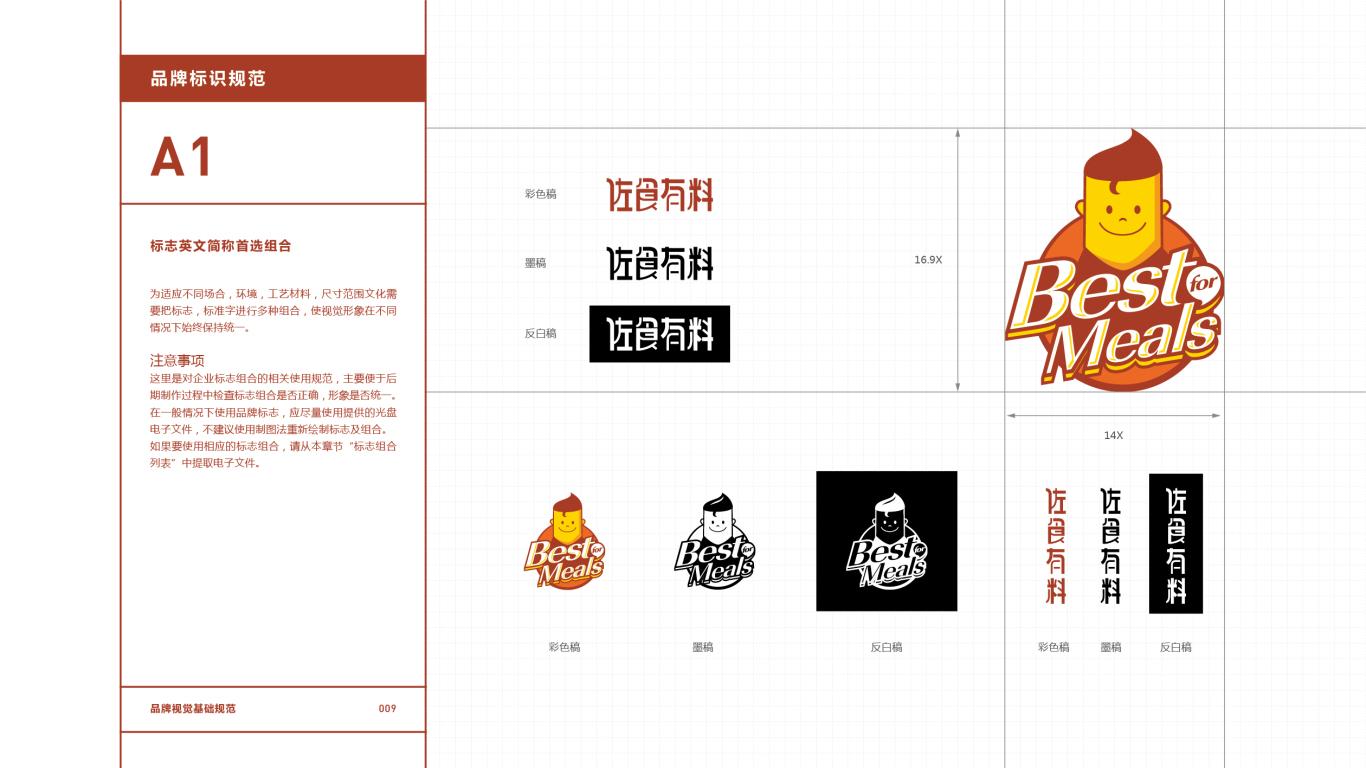 佐食有料餐饮品牌VI设计中标图10