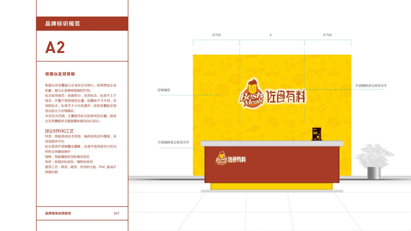 佐食有料餐饮品牌VI设计中标图28