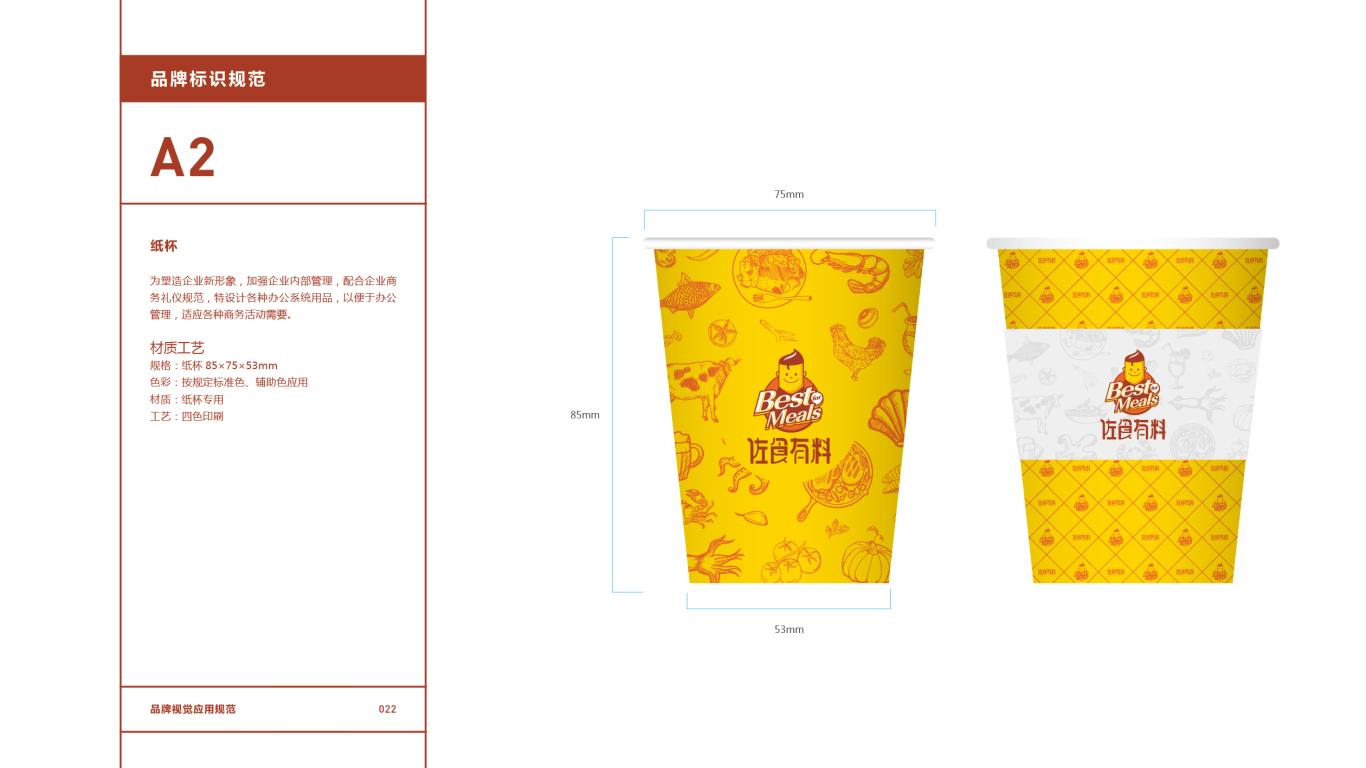 佐食有料餐饮品牌VI设计中标图23