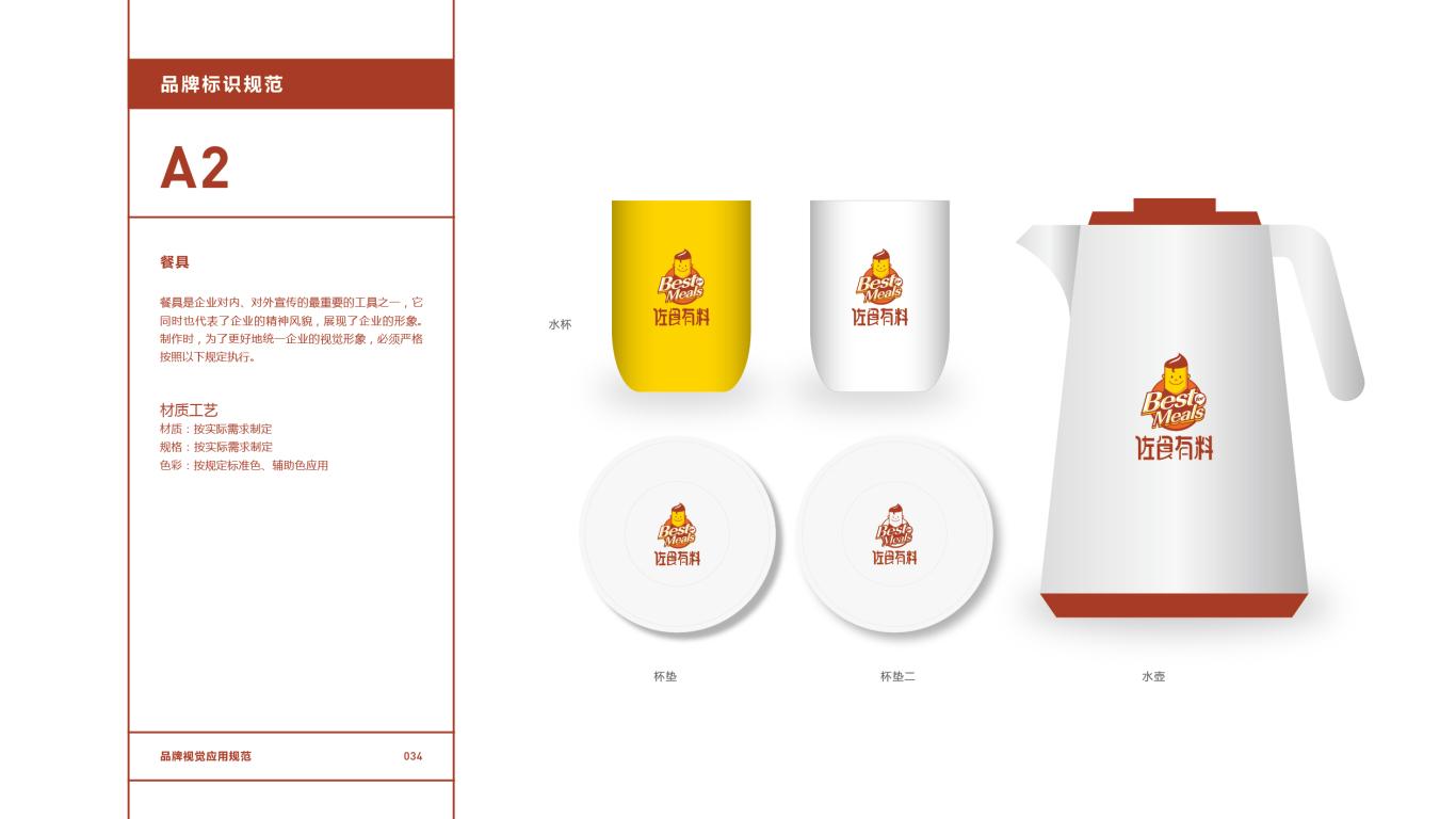 佐食有料餐饮品牌VI设计中标图35