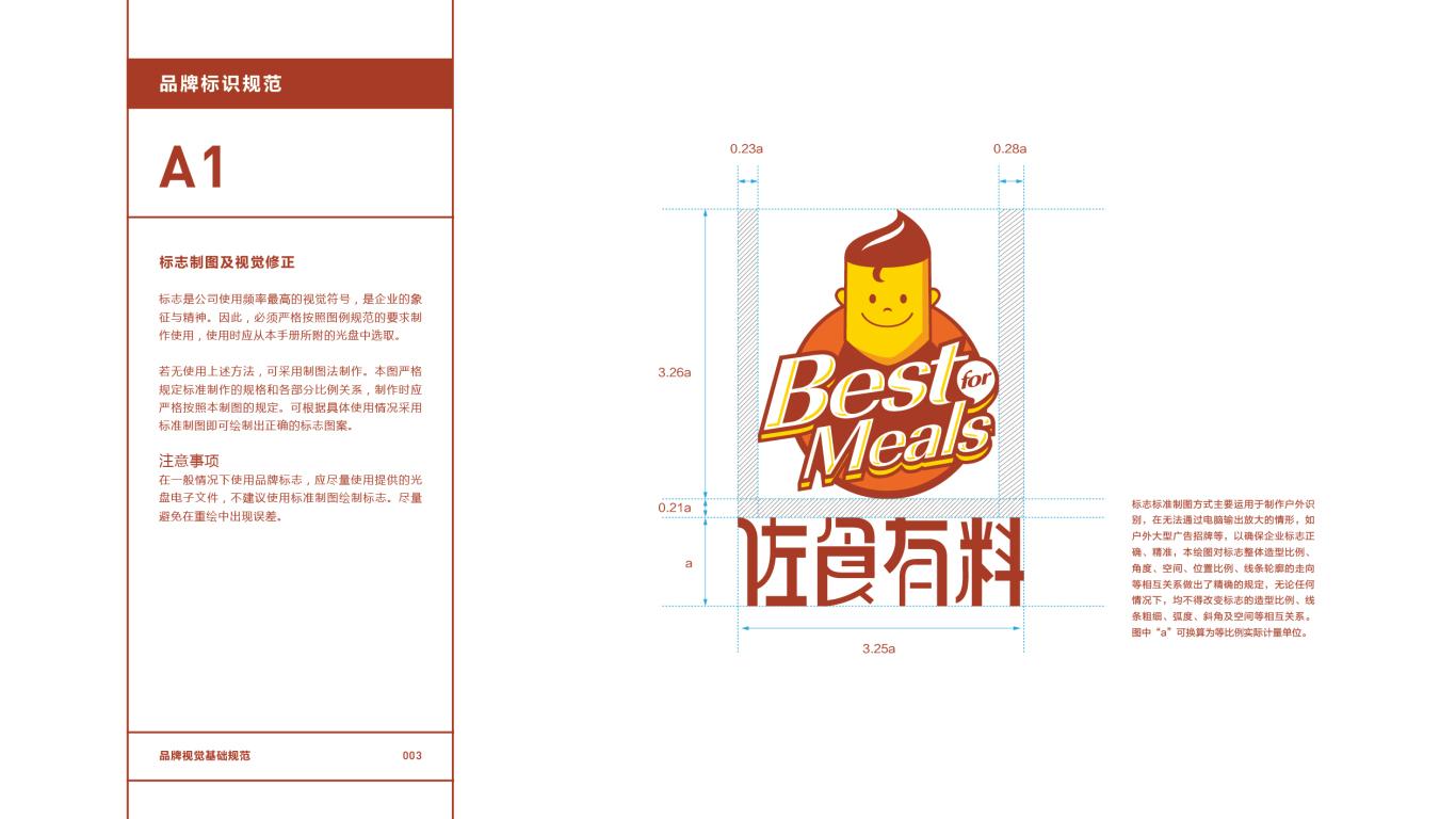 佐食有料餐饮品牌VI设计中标图4