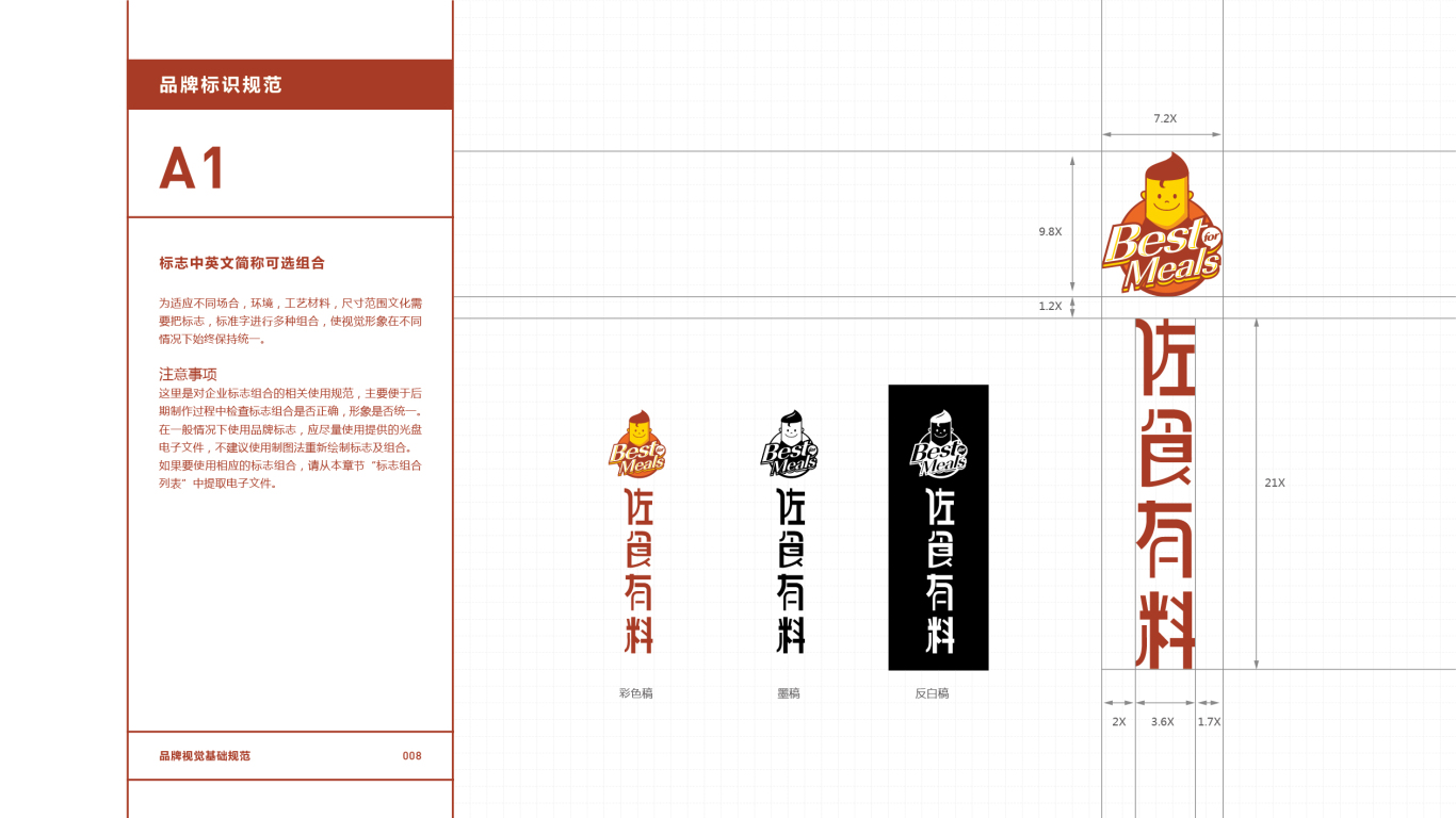 佐食有料餐饮品牌VI设计中标图9