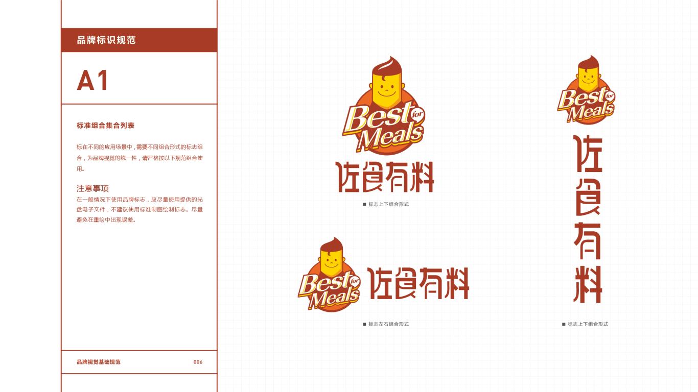 佐食有料餐饮品牌VI设计中标图7