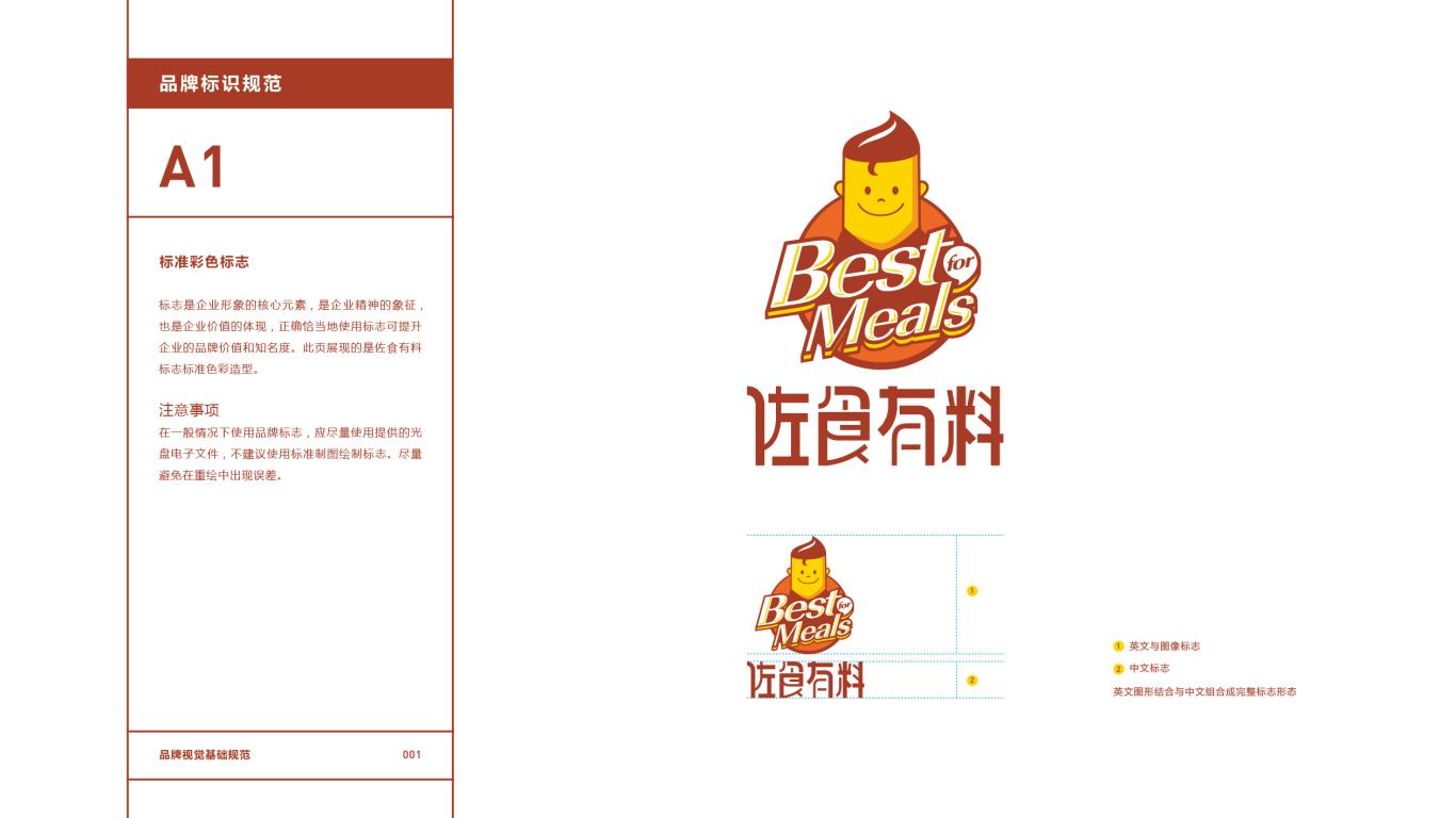佐食有料餐饮品牌VI设计中标图2