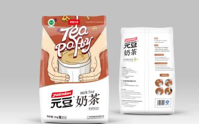 """""""元豆""""咖啡/奶茶包装设计"""