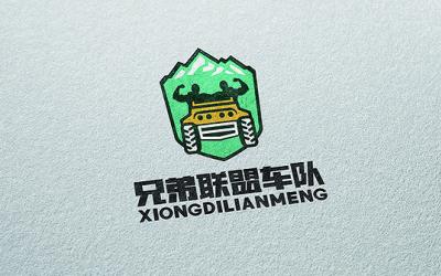 兄弟联盟车队品牌logo设计