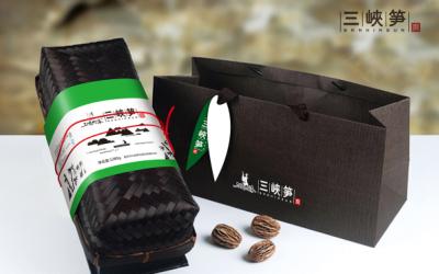 竹笋特色礼盒包装设计
