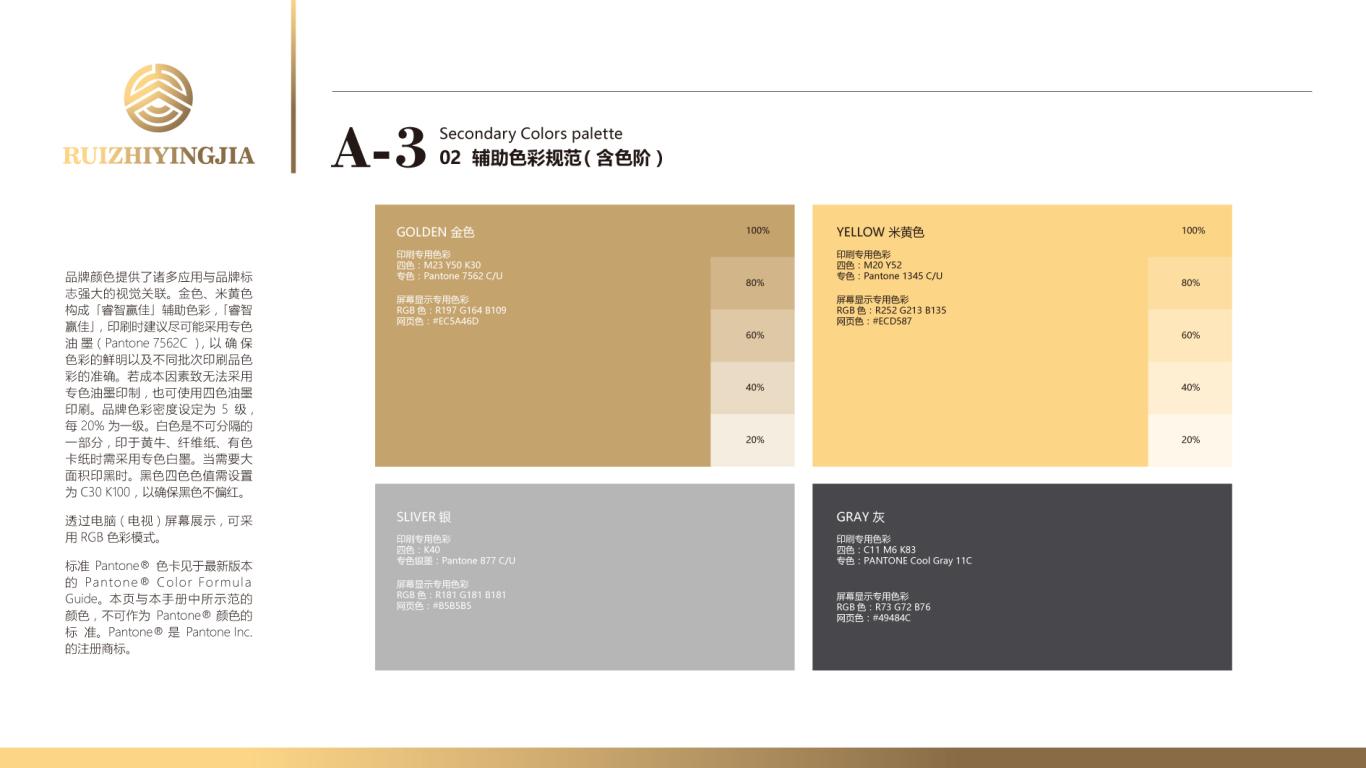 睿智赢佳金融品牌VI设计中标图22