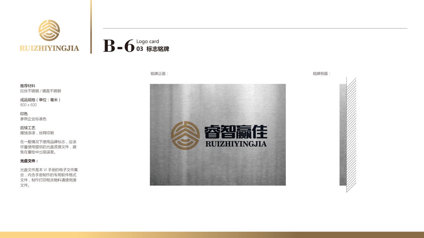 睿智赢佳金融品牌VI设计中标图62