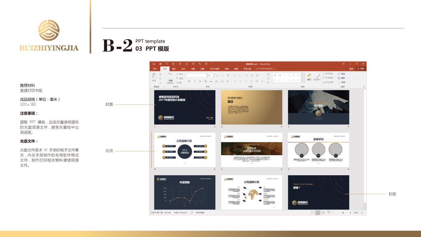 睿智赢佳金融品牌VI设计中标图45