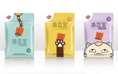"""蜡笔小新品牌""""鱼豆腐系列""""食品..."""