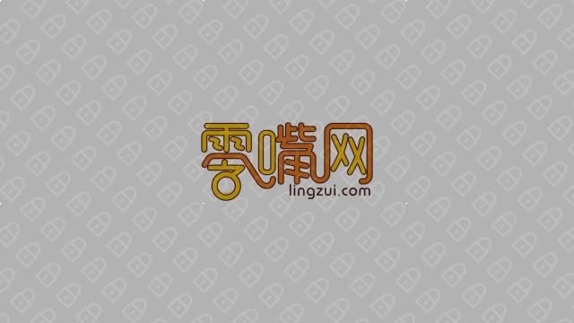 零嘴网电商品牌LOGO设计入围方案2