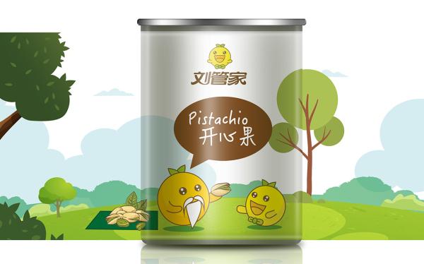 劉管家食品包裝設計