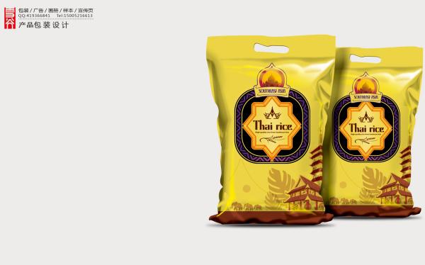 泰国大米包装设计