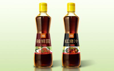 勁寶醬油包裝設計