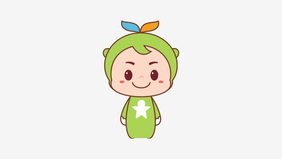 馨蓓贝教育品牌吉祥物设计