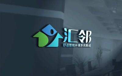 汇邻家居装饰logo设计