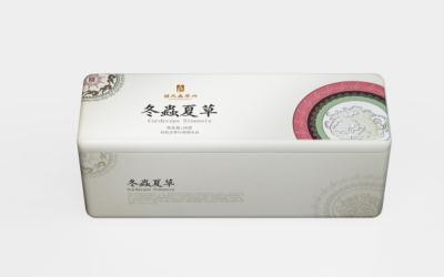 钟氏虫草粉形象包装设计
