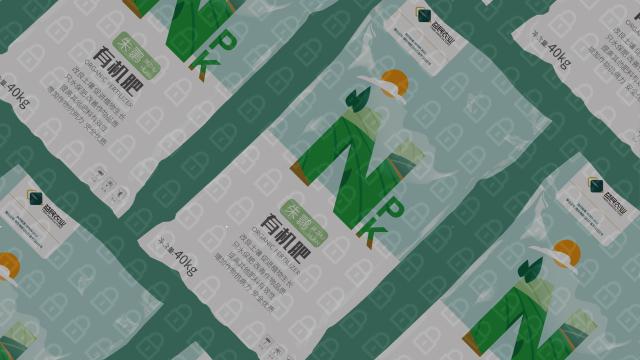 朱鹮生物菌肥包装设计入围方案0