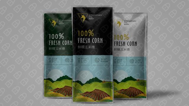 玉歌食品品牌包装设计入围方案2