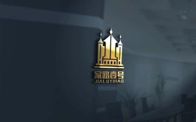 家路壹号房地产logo设计方案